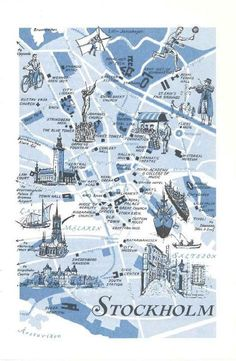 Map of Lund Sweden Lund map print Fine reproduction Lund