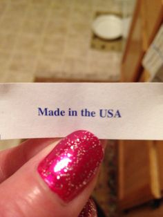 Fortune cookie. WTF?!?!