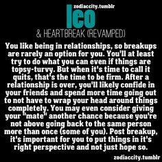 Leo and Heartbreak