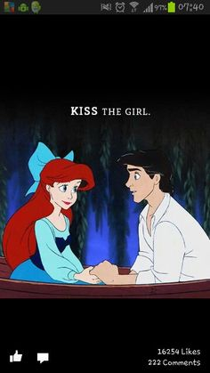 In case you hadn't noticed I love the LITTLE MERMAID <3 lol
