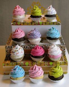 Adorable cupcake decorations! cupcake-love food-and-recipies