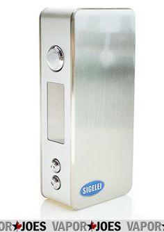 Vapor Joes - Daily Vaping Deals: LOW: THE SIGELEI 75 WATT / TC BOX MOD - $50.39 + F...