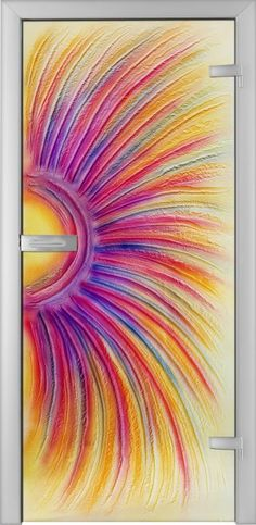 Fused Glass Doors - Arcoboleno 01