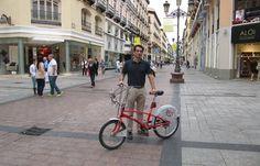 Multado por ir por la acera en Calle Alfonso ( testimonio heraldo.es )