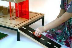 дневник дизайнера: Деревянный кукольный домик и кофейный столик - два в одном!