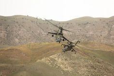 2 Russian Mi-24 in Dushanbe-Counterterror exercises Tajikistan 2017 [OS][1200800]