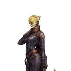Feline Humanoid