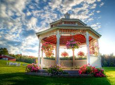 gazebo, so much radial symmetry