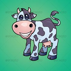 Dairy Cow Cartoon