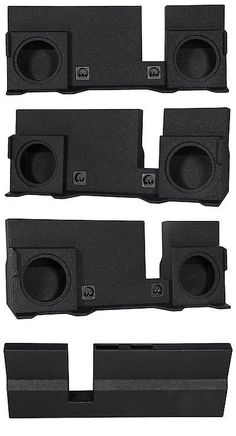 Speaker Sub Enclosures: 2004-2008 Ford F150 Super Crew Xcab Dual 10 Vented Subwoofer Sub Box Enclosure -> BUY IT NOW ONLY: $159.99 on eBay!