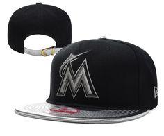 low cost 884a9 86cdb MLB MIAMI MARLINS 9FIFTY Strapback Caps Hats Black 001! Only  8.90USD  Strapback Cap,