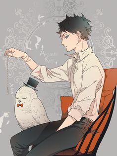 #akaashi #keiji #hq #owl #fukurodani #akaashikeiji #haikyuu #fukuro