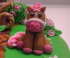Fondant Horse Figure  By BellaCakes  Confections CakesDecorcom