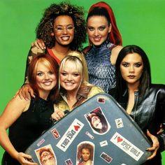 """Spice Girls photoshoot for Smash Hits! Magazine taken backstage at the Smash Hits awards on November 30th, 1997! ✌️ #spicegirls #spiceworld…"""