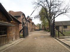 Entrada de penados de Auschwitz