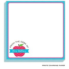 Apple for the Teacher Notepad | RockPaperScissors