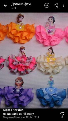 Market Day Ideas Kids Hair Bows Disney Designs Princess Hairstyles Diy Projects To Try Paper Flowers Hair Clips Beautiful Things Cricut Frozen Hair Bows, Disney Hair Bows, Disney Headbands, Flower Girl Headbands, Headband Hair, Disney Princess Dresses, Disney Dresses, Cinderella Disney, Princess Hair Bows
