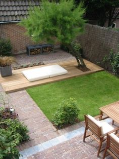 Small Patio Garden Design Beautiful 65 New Ideas Small Front Yard Landscaping, Backyard Landscaping, Landscaping Ideas, Pavers Ideas, Patio Ideas, Backyard Ideas, Small Gardens, Outdoor Gardens, Small Patio Design