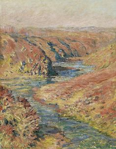 Claude Monet The Valley Of The Creuse At Fresselines 1889 Oil Painting Inch Cm printed On High Quality Polyster Canvas this High Quality Art Decorative Canvas Prints Is Perfectly Suitalbe For Gym Artwork And Home Decoration And Gifts Manet, Claude Monet, Pierre Auguste Renoir, Landscape Art, Landscape Paintings, Landscapes, Artist Monet, Monet Paintings, Art Japonais