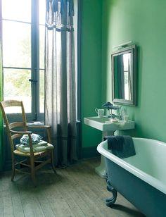#bathroom Meuble de salle de bain Blanc d'Ivoire - Objet Déco - Déco
