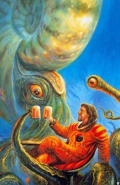 Bob Eggleton   A Pint with a Mollusc