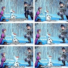 Frozen might be the best Disney movie since The Lion King for me! Disney Love, Disney Magic, Disney Frozen, Frozen Pics, Olaf Frozen, Frozen Funny, Frozen Memes, Disney Stuff, Best Disney Movies