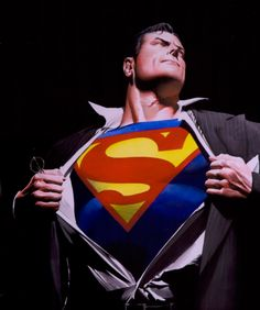 Nobody can draw Superman quite like Alex Ross.