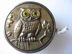 Metal Owl Tape Measure