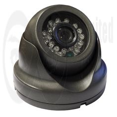 """1/3"""" CMOS sensor 800 TVL resolution (960H) IP66 weatherproof Vandalproof metal case Colour camera and has night vision reaching 20m using 24 IR LEDS. The 3.6mm lens gives a 80° viewing angle also available in white 1 year warranty*. - Unlimited CCTV"""