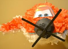 Disney Pixar Planes! It's a Dusty Crophopper Piñata! And with a gluten free paste instead of the usual wheat based mixture! Do you have a food allergy, sensitivity or intolerance? Start following allergy free food. All free, allergy free. The nutrient-conscious recipes in this site are egg free, dairy free, mustard free, peanut free, seafood free, sesame free, soy free, sulphite free, tree nut free and wheat free / gluten free.