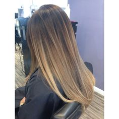 Hair By Jenny Amber - Costa Mesa, CA, United States. Khloe Kardashian inspired balayage ombre!