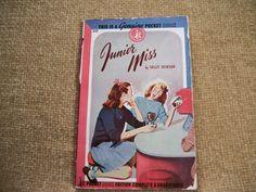 Vintage 1945 Pocket Book  Junior Miss by Sally by TKSPRINGTHINGS, $9.95