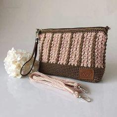 8bce8cc37067f4 Crochet Bags, Purses And Bags, Purses, Crochet Purses, Crochet Clutch Bags,