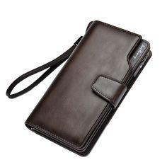 $7.00 (Buy here: https://alitems.com/g/1e8d114494ebda23ff8b16525dc3e8/?i=5&ulp=https%3A%2F%2Fwww.aliexpress.com%2Fitem%2FHot-sale-fashion-design-Business-Men-Leather-wallets-long-zipper-purse-Male-clutch-carteira-masculina-porte%2F32769600724.html ) 2016 Long Wallet Design Pu Leather Bag New Fashion Cash Wallets Card Holder Coin Purse Clutch Men Hand Bag For man for just $7.00