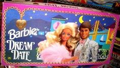 Barbie dream date board game'n - always got stuck with the ugly guy