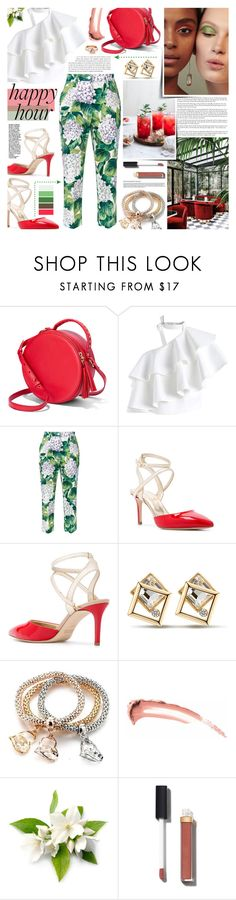 """Gemini"" by kumi-chan ❤ liked on Polyvore featuring Chicwish, Dolce&Gabbana, Marc Ellis and Chanel"