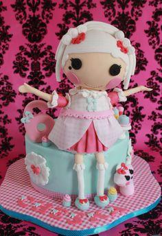 Suzette La Sweet - Lalaloopsy Cake
