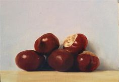 """Conkers"" - Original Fine Art for Sale - © James Coates"