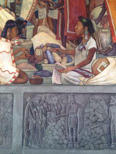 Diego Rivera detail muurschildering