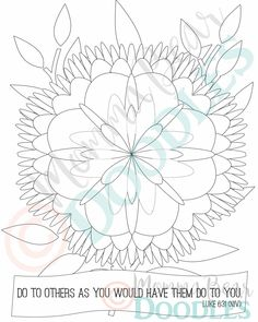 items similar to scripture coloring page flower luke 631 printable page pdf download on etsy