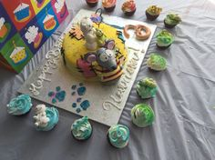 Toopy and Binoo Cake Cakes, Desserts, Food, Tailgate Desserts, Meal, Cake, Dessert, Eten, Meals