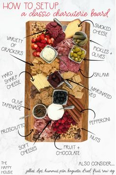 Charcuterie Recipes, Charcuterie Platter, Charcuterie And Cheese Board, Cheese Boards, Antipasti Board, Charcuterie For Dinner, Antipasto Tray, Plateau Charcuterie, Party Food Platters