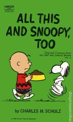 All This and Snoopy, Too SC #1-1ST (1962)