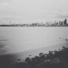 Seattle, Alki Beach (actually, i WENT there yesterday! woot!)