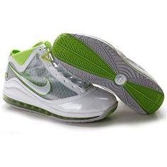 Nike LeBron 7 White/Green Sport