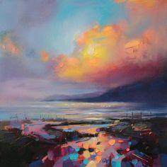 Взрыв цвета в облаках. Скотт Нейсмит - Все интересное в искусстве и не только.