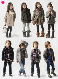 kids style... This is how I want to dress my kids!! No more baby stuff, they look way cuter in this type of clothing, not princess and toy story, that's for pajama's and play time at home!!