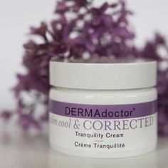 Feel calm, cool and collected with a tranquil complexion. This rich, moisturizing cream helps to gently sooth skin and improve the appearance of redness.  #DERMAdoctor #skincare #selfcare #moisturizer