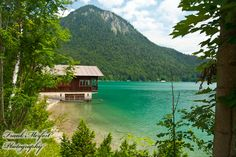 Walchensee, or Lake Walchen is one of the deepest and largest alpine lakes in Germany ~ Bavarian Alps