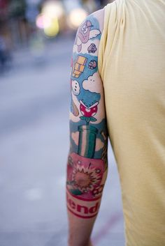 Nintendo Sleeve I wouldn't get it but I can certainly appreciate it.